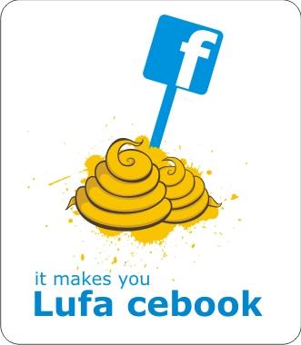 kaos facebook plesetan